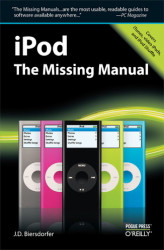 Okładka: iPod: The Missing Manual. The Missing Manual
