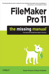 Okładka książki: FileMaker Pro 11: The Missing Manual