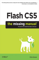 Okładka książki: Flash CS5: The Missing Manual
