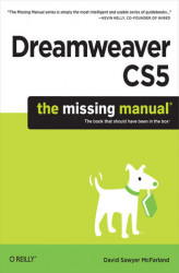 Okładka książki: Dreamweaver CS5: The Missing Manual