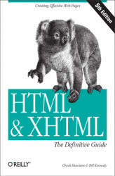 Okładka książki: HTML & XHTML: The Definitive Guide. The Definitive Guide