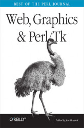 Okładka książki: Web, Graphics & Perl/Tk Programming. Best of the Perl Journal