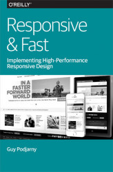 Okładka: Responsive & Fast. Implementing High-Performance Responsive Design