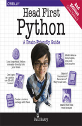 Okładka: Head First Python. A Brain-Friendly Guide. 2nd Edition