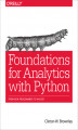 Okładka książki: Foundations for Analytics with Python. From Non-Programmer to Hacker