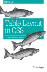 Okładka książki: Table Layout in CSS. CSS Table Rendering in Detail