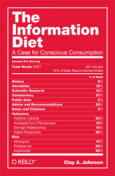 Okładka: The Information Diet. A Case for Conscious Comsumption