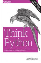 Okładka: Think Python. How to Think Like a Computer Scientist