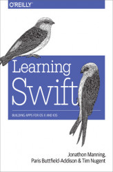 Okładka: Learning Swift. Building Apps for OS X and iOS