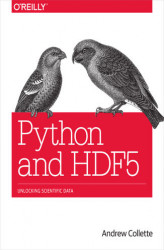 Okładka: Python and HDF5