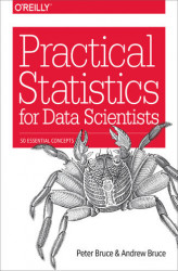 Okładka: Practical Statistics for Data Scientists. 50 Essential Concepts