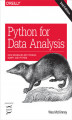Okładka książki: Python for Data Analysis. Data Wrangling with Pandas, NumPy, and IPython. 2nd Edition