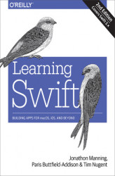 Okładka: Learning Swift. Building Apps for macOS, iOS, and Beyond. 2nd Edition
