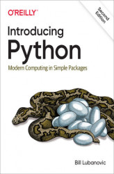 Okładka: Introducing Python. Modern Computing in Simple Packages. 2nd Edition