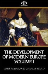 Okładka: The Development of Modern Europe Volume I