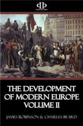 Okładka: The Development of Modern Europe Volume II