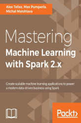 Okładka: Mastering Machine Learning with Spark 2.x