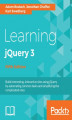 Okładka książki: Learning jQuery 3 - Fifth Edition
