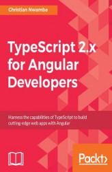 Okładka książki: TypeScript 2.x for Angular Developers