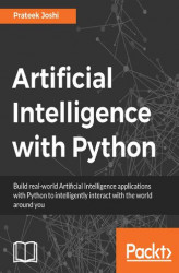 Okładka książki: Artificial Intelligence with Python