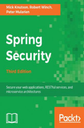 Okładka: Spring Security - Third Edition