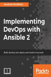 Okładka: Implementing DevOps with Ansible 2
