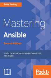 Okładka: Mastering Ansible - Second Edition