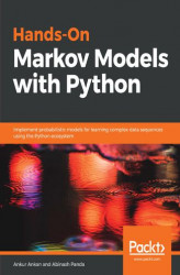 Okładka: Hands-On Markov Models with Python