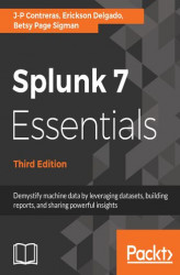 Okładka: Splunk 7 Essentials, Third Edition