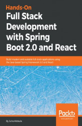 Okładka książki: Hands-On Full Stack Development with Spring Boot 2.0 and React