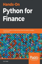 Okładka książki: Hands-On Python for Finance