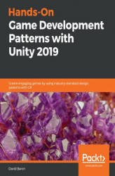 Okładka: Hands-On Game Development Patterns with Unity 2019
