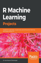 Okładka książki: R Machine Learning Projects