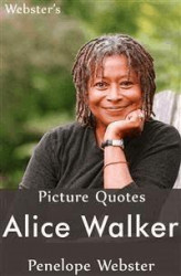 Okładka: Webster's Alice Walker Picture Quotes