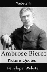 Okładka: Webster's Ambrose Bierce Picture Quotes