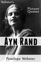Okładka: Webster's Ayn Rand Picture Quotes