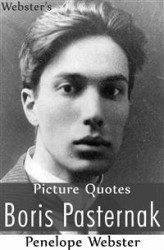 Okładka: Webster's Boris Pasternak Picture Quotes