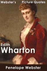 Okładka: Webster's Edith Wharton Picture Quotes