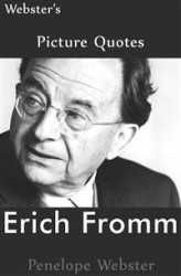 Okładka: Webster's Erich Fromm Picture Quotes