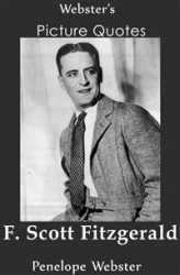 Okładka: Webster's F. Scott Fitzgerald Picture Quotes