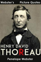 Okładka: Webster's Henry David Thoreau Picture Quotes