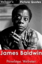 Okładka: Webster's James Baldwin Picture Quotes