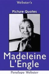 Okładka: Webster's Madeleine L'Engle Picture Quotes
