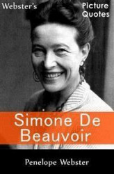 Okładka: Webster's Simone de Beauvoir Picture Quotes