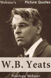 Okładka: Webster's W.B. Yeats Picture Quotes