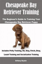 Okładka: Chesapeake Bay Retriever Training: The Beginner's Guide to Training Your Chesapeake Bay Retriever Puppy