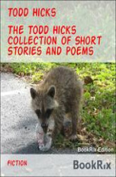 Okładka: The Todd Hicks Collection of Short Stories and Poems