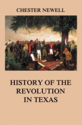 Okładka książki: History of the Revolution in Texas