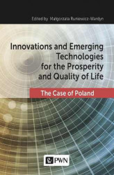 Okładka książki: Innovations and Emerging Technologies for the Prosperity and Quality of Life