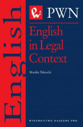 Okładka książki: English in Legal Context